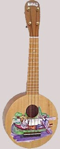Mahalo art series 1 canoe round Soprano at Lardy's Ukulele Database