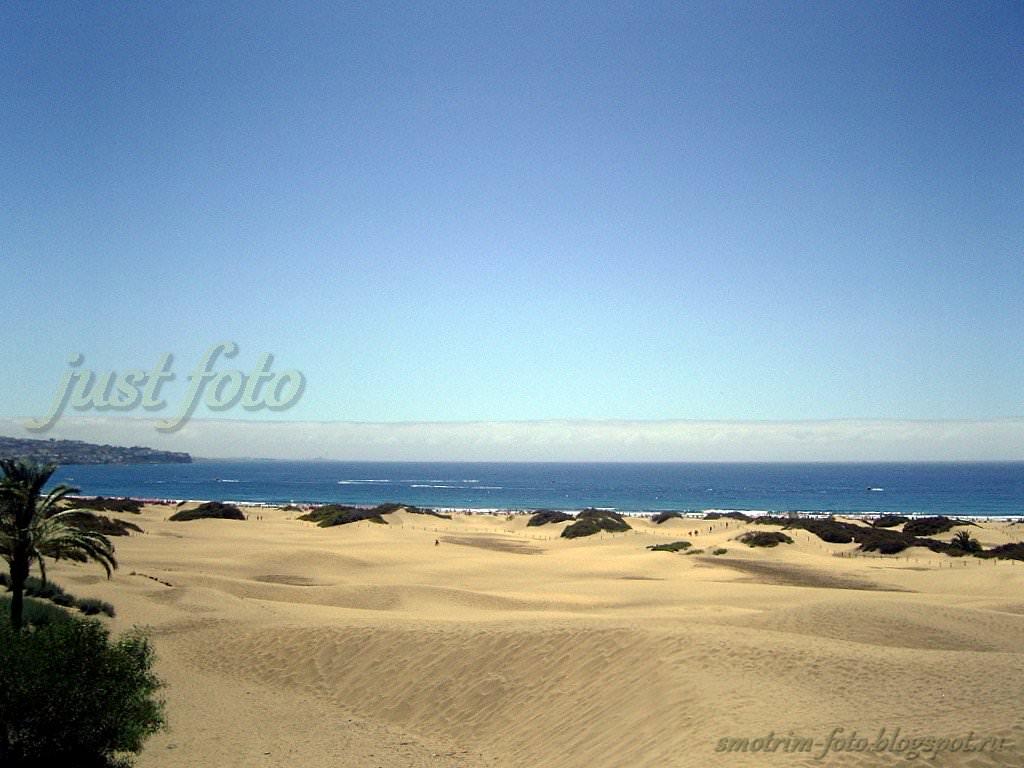 о. Гран Канария дюны фото