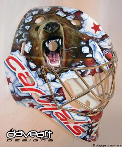 I Love Goalies Braden Holtby 2010 11 Mask