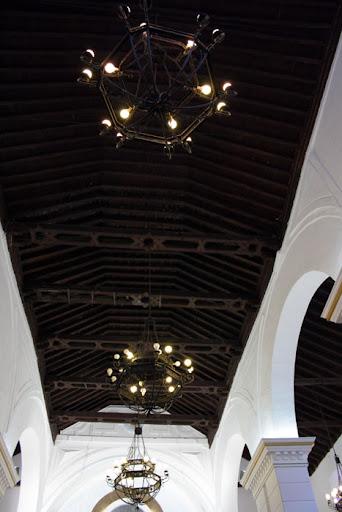 Tejado nave Iglesia de la Encarnación Campillo de Arenas
