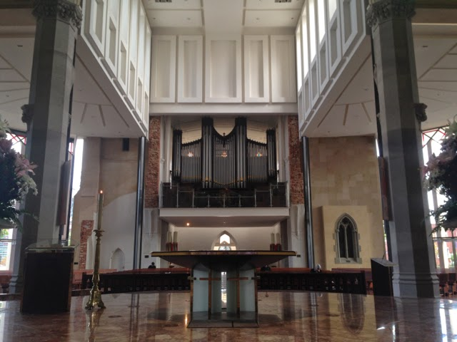 Inside the St Mary's Cathedral, Perth