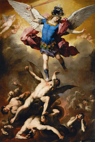 Luca Giordano - The Fall of the Rebel Angels