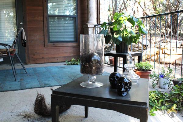 DIY Halloween Decoration - Fill Jar