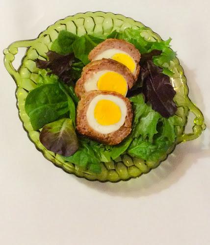 Jajka, mięso mielone, jajka w kotlecie mielonym, obiad, kolacja, przekąski
