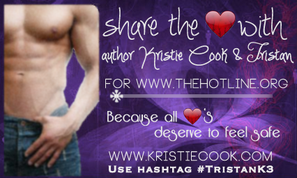 Share the LOVE with Kristie Cook and Tristan from the Soul Savers series