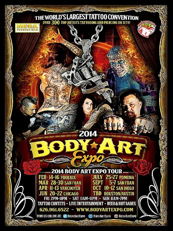Body Art Expo Pomona Show   July 2015