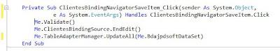 Agregar componentes al formulario de la aplicación VB.Net enlazados con MySQL de forma nativa