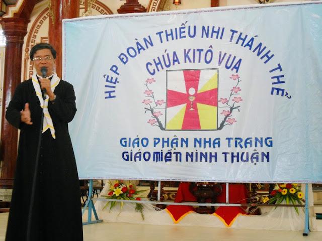 Hiệp đoàn TNTT Kito Vua miền Ninh Thuận, giáo hạt Ninh Sơn mừng bổn mạng
