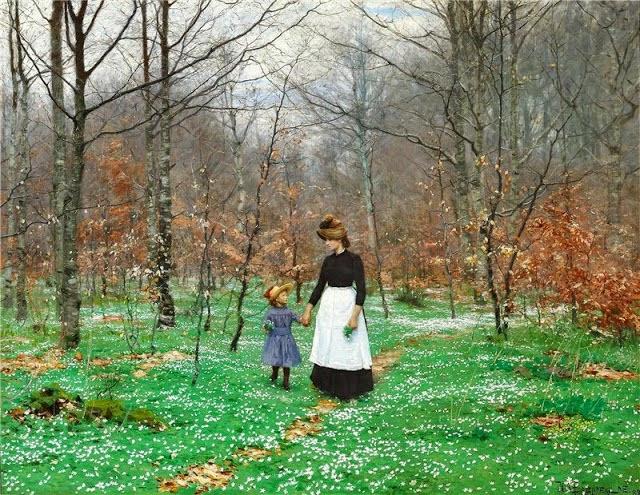 Hans Andersen Brendekilde - The first anemones