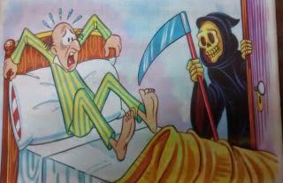 La muerte y el fracasado Fabulas con moraleja
