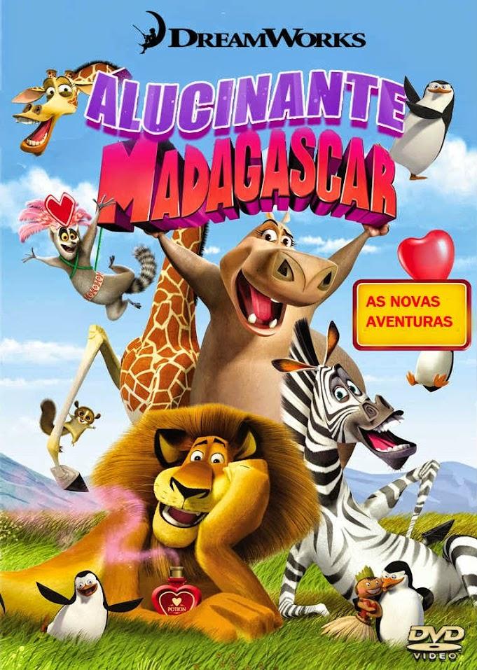 Filme Poster Alucinante Madagascar WEBRip XviD & RMVB Dublado