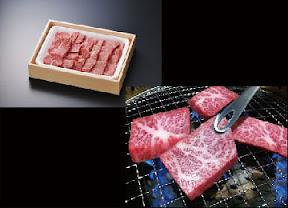 鹿児島県産黒毛姫牛 三角バラ200g+肩ロース300g焼肉用