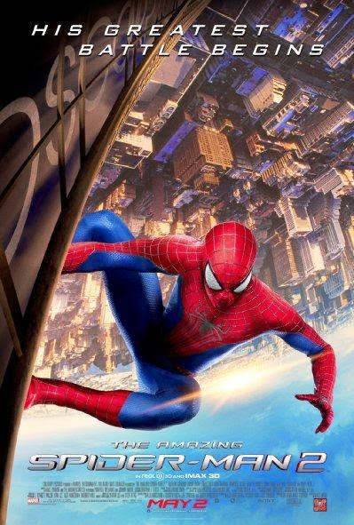 Poster Of English Movie The Amazing Spider-Man 2 (2014) Free Download Full New Hollywood Movie Watch Online At Alldownloads4u.Com