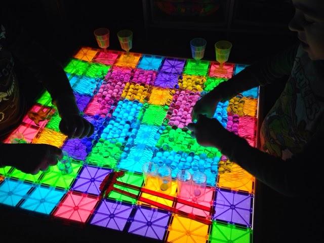 light table activities