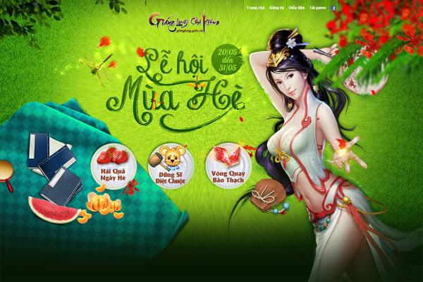 Giáng Long Chi Kiếm tưng bừng đón lễ hội mùa hè 2