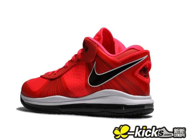 Nike LeBron 8 V2 Low 8220Solar Red8221 Available Early
