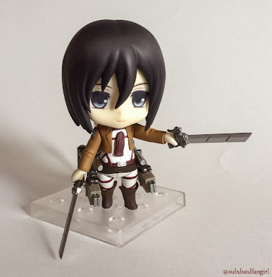 Nendoroid Mikasa Ackerman Review Picture 1