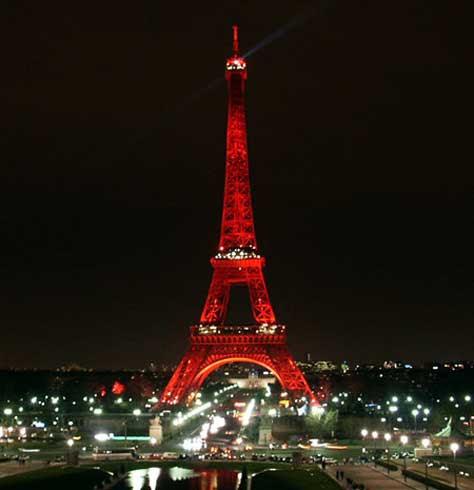 Tour Eiffel, de noche