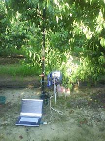ordinateur portable relier a un monitor en registreur