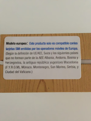 Etiqueta caja Note 3