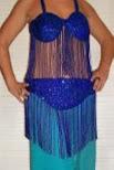 traje oriental egipcio,talla 95,sin