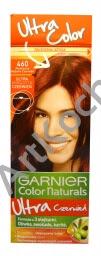 Farba do włosów GARNIER Color Naturals 460 Płomienna Głęboka Czerwień