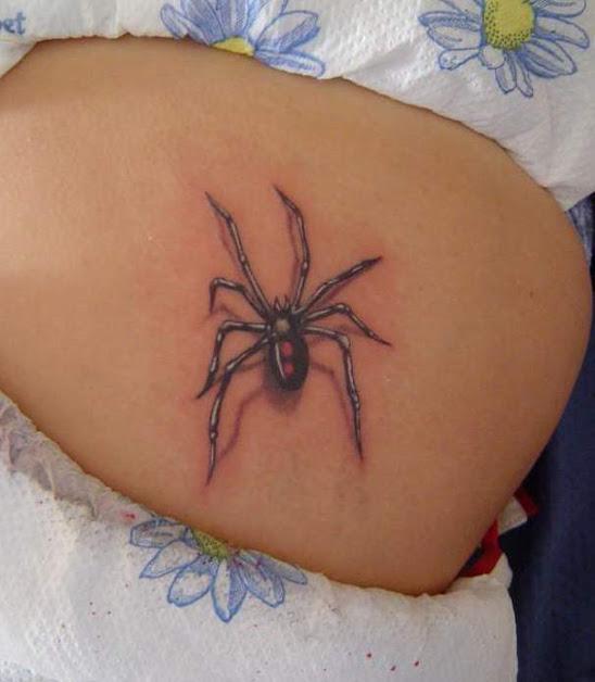 tatuaże pająki