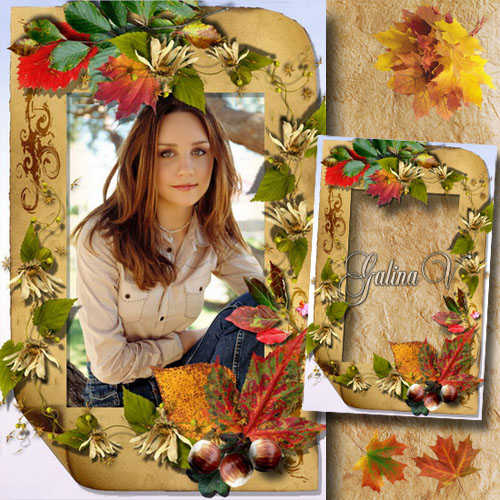 Frame for Photo - Autumn Palette