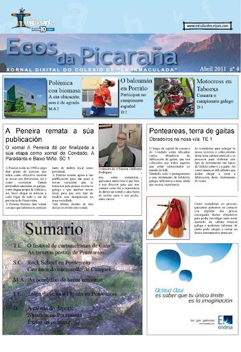 Ecos da Picaraña nº 4. Abril de 2011