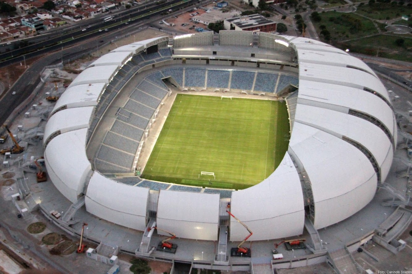 Natal - Rio Grande do Norte, Brasile: Officially Opened Arena Das Dunas by Populous