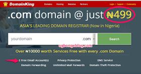 Promo- Get Cheap .com Domain Registration Now For 500#