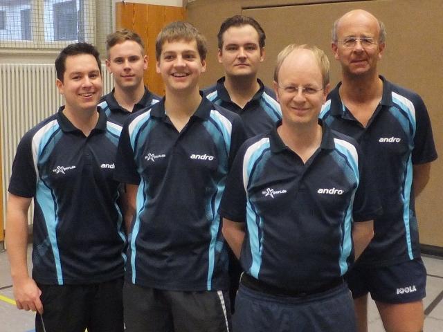 TTC Straubing: Herren III - Saison 2012/13