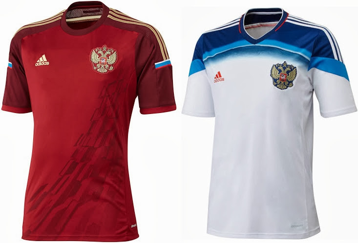 FIFA 2014 World Cup version (suggestions) - Page 3 Russia+2014+world+cup+kit+home+away+released