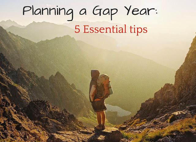 Planning a gap year: 5 essential tips