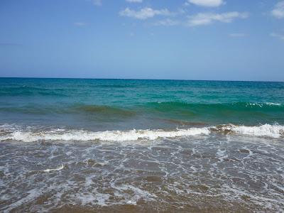 Meer am Strand von Maspalomas