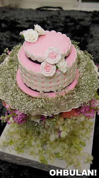 kek pertunangan liyana jasmay