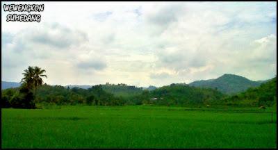 Suasana di Desa Wado