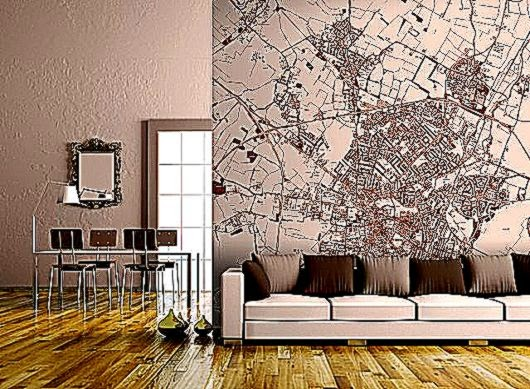 Custom Map Wall Murals » Design You Trust Design Culture amp Society