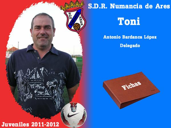 ADR Numancia de Ares. Xuvenís 2011-2012. TONI.