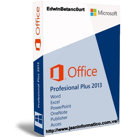 Microsoft office professional plus 2013 full espa ol activador permanente 1 enlace jean - Office professional plus 2013 telecharger ...
