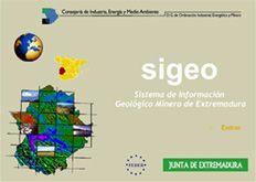 SIGEO - Sistema de Información Geológico Minero de Extremadura