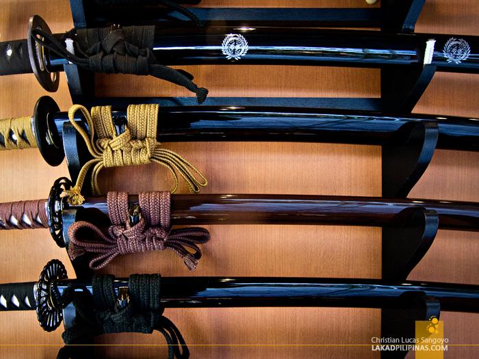 Katana Blades at Asakusa's Nakamise Shopping Street