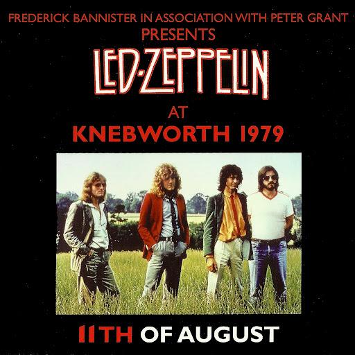 Led Zeppelin Knebworth 1979