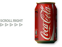 Coke Can by Roman Cortes