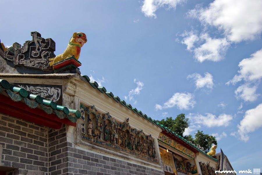 吉澳天后廟的建築特色