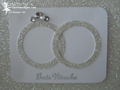 stampin up, wedding ring, hochzeit, eheringe, in worte gefasst