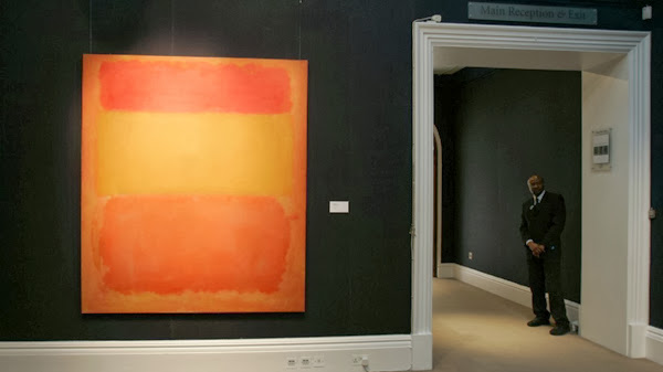 Orange, red, yellow de Rothko