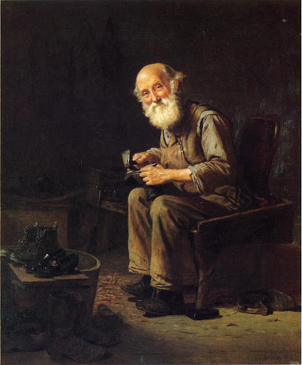 John George Brown - The Village Cobbler