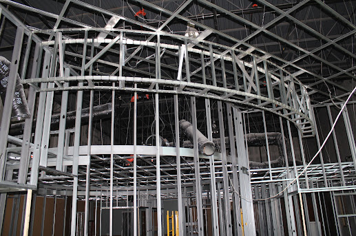 Metal Stud Framing With Usg Drywall Suspended Ceiling Grid