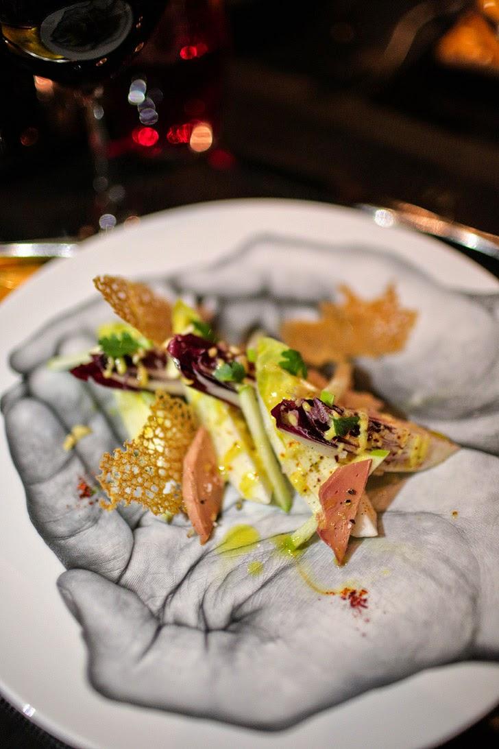 Les Endives - L'Atelier Joel Robuchon - Places to Eat in Vegas.